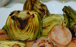 Photo of Artichokes Grilled recipe