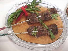 Photo of Skirt Steaks with Fresh Herbs recipe