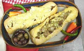 Photo of Half-Time Italian Beef Sandwiches recipe