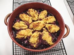 Photo of Berry Corn Cobbler recipe