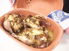 Photo of Cornish Game Hens with Mustard Glaze recipe
