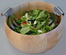 Photo of Green Salad with Balsamic Dressing recipe