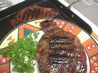 Photo of Grilled Steak Seasoned to Taste recipe