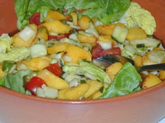 Photo of Nectarine / Peach Salad recipe