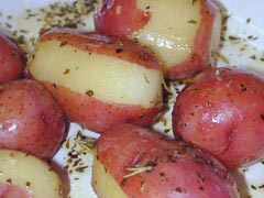 Photo of Little Potatoes with Herb Dressing recipe