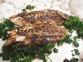 Photo of Flavorful Fish Fillets with Snappy Parsley Sauce recipe