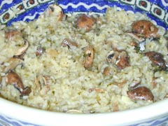 Photo of Pilaf with Mushrooms recipe