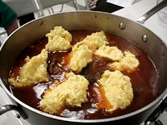 Photo of Pot of Beef with Mush Dumplings recipe