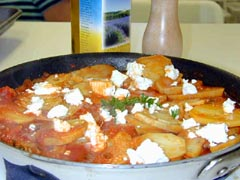 Photo of Potatoes with Tomatoes and Feta recipe