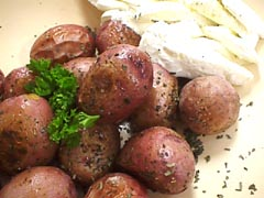 Photo of Roasted Baby Potatoes and Onions recipe