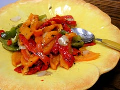 Photo of Colorful Sweet Bell Peppers recipe