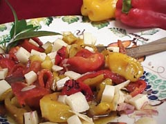 Photo of Wealthy Roasted Red Pepper Strips / Salad recipe