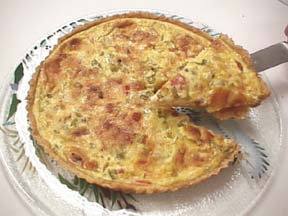 Photo of Quiche with Red and Green Peppers recipe