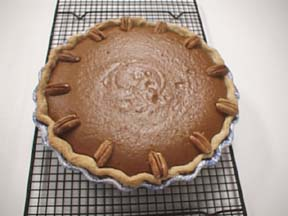 Photo of Pumpkin Pie with Cinnamon Cream Topping recipe