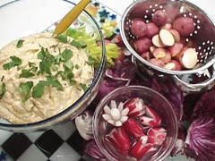 Photo of Vegetables with Hummus recipe