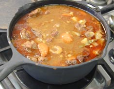Photo of Wintery Vegetable and Beef Soup recipe